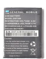 Genaral Mobile Dst-350 Aa Kalite Pil-batarya