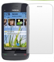 Nokia C5-03 Mat Ekran Koruyucu Jelatin