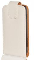Ally Galaxy S Duos S7562 Beyaz Kapaklı Kılıf