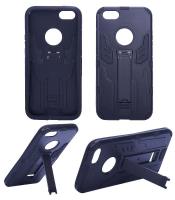 APPLE İPHONE 5G,5S 5SE ROBOT STANDLI SERT PLASTİK KILIF