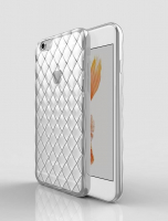 APPLE İPHONE 6,6S DARBE EMİCİ 3D KRİSTAL SEFAF SİLİKON KILIF