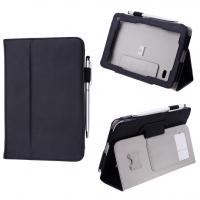 Acer Iconia Tab B1-710 Deri Stand Tablet Kılıf Kalem Hediyeli