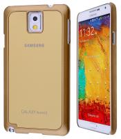 ALLY GALAXY NOTE 3 N9000 GOLD SERT PLASTİK KILIF