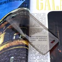 HUAWEİ ASCEND G7 SPADA KRİSTAL SOFT SİLİKON KILIF