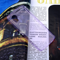 LG NEXUS 5 D820 SPADA KRİSTAL SOFT SİLİKON KILIF