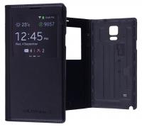 Ally Galaxy Note 4 Pencereli Flip Cover Kılıf