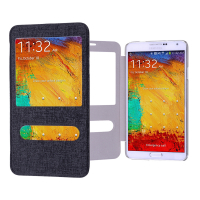 GALAXY NOTE 3 N900 PENCERELİ FLİP COVER KILIF
