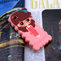İPHONE 5-5S 3D CUTE LİTTLE BUSH FİGÜRLÜ SİLİKON KILIF