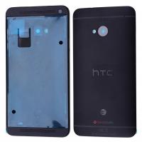 HTC ONE 801E M7 FULL KASA KAPAK SİYAH