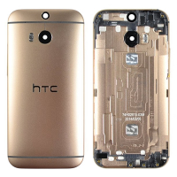 HTC ONE M8 ORJ FULL ARKA KAPAK GOLD