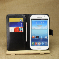 Galaxy Grand Neo İ9060 - İ9080 Standlı Cüzdan Kılıf