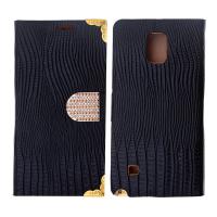 Ally Galaxy Note 4 Taşlı Standlı Cüzdan Kılıf