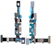 Ally Samsung Galaxy Note 5 N920c İçin Şarj Kulaklık Soket Tuş Bord Filmi