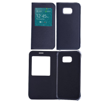Ally Galaxy S7 G930 Pencereli İnce Kapaklı Kılıf