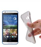 HTC DESİRE 620 SPADA KRİSTAL SOFT SİLİKON KILIF