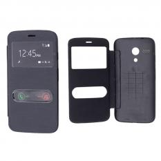 Motorola Moto G Xtxt1031-1032-1033 Pencereli Flip Cover Kılıf