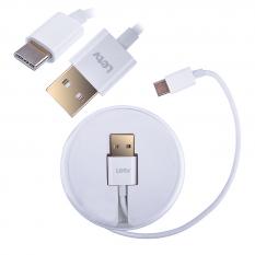 LETV TYPE C USB KABLO 1MM ŞARJ USB KABLO