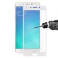 Oppo R9 Plus Full Kaplama Renkli Kırılmaz Cam Ekran Koruyucu