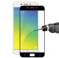 Oppo R9s Plus Full Kaplama Renkli Kırılmaz Cam Ekran Koruyucu