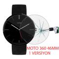 Motorola Moto 360 46mm 1versiyon Kırılmaz Cam Ekran Koruyucu