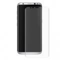 Ally Galaxy S8+ Plus 3d Kavisli Şeffaf Darbe Emici Pet Ekran Koruyucu