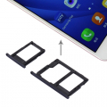 Ally Samsung Galaxy J5 Prime,J7 Prime  İçin Çift Sim Hafıza Sim Kart Kapağı