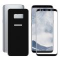 Ally Samsung Galaxy S8+ Plus İçin Kavisli Full Ön Arka Cam  Koruyucu