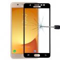Ally Samsung Galaxy J7 Max İçin Full Kaplama Kırılmaz Cam Ekran Koruyucu