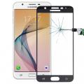 Ally Samsung Galaxy On7 İçin Full Kaplama Kırılmaz Cam Ekran Koruyucu
