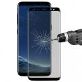 Ally Samsung Galaxy S8+ Plus İçin Privacy Gizlilik Kavisli Full Kırılmaz Cam Ekran Koruyucu