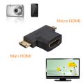 Mini - Micro Hdmi Çevirici Dönüştürücü Adaptör