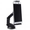 ALLY YS-04 Vantuzlu Torpido Üstü Teleskopik Araç Tutucu Tablet Telefon