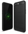 Oppo R11 Dark Ultra Koruma Karbon Fiber Doku Silikon Kılıf