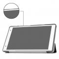 Lenovo Tab 4 8 Plus  (tb-8704 Standlı Mıknatıslı Ultra İnce Deri Kılıf