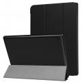 Lenovo Tab 4 10 Plus (tb-X704f Standlı Mıknatıslı Ultra İnce Deri Kılıf