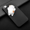 İPhone 5G, 5S,5SS 3d Kedi Figürlü Silikon Kılıf