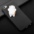 İPhone 6- İPhone 6S 3D Kedi Figürlü Silikon Kılıf
