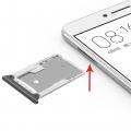 Xiaomı Mi Max 2 Sim Hafıza Kart Kapağı
