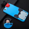 İphone 6,İphone 6s 3d Mickey Mouse Figürlü Silikon Kılıf