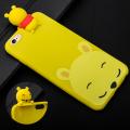 İphone 7,İphone 8 3d Winnie Pooh Figürlü Silikon Kılıf