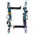 Ally Samsung Galaxy C7 Pro C7010 İçin Şarj Kulaklık Soket Tuş Bord Film