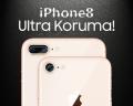 Ally Apple İphone 8 Kamera Koruma Kırılmaz Cam Koruyucu