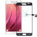 Ally Samsung Galaxy C8  J7+ Plus İçin Full Kaplama Kırılmaz Cam Ekran Koruyucu