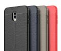 Ally Samsung Galaxy C8,J7+ Plus İçin Litchi Tam Koruma Soft Silikon Kılıf