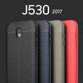 Ally Galaxy J5 2017 J530  J5 Pro Litchi Tam Koruma Soft Silikon Kılıf