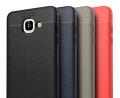 Ally Galaxy J5 Prime Litchi Tam Koruma Soft Silikon Kılıf