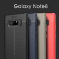Ally Galaxy Note 8 Litchi Tam Koruma Soft Silikon Kılıf