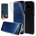 Ally Sm Galaxy S8 360 Koruma Şeffaf Soft Silikon Kılıf