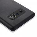 Ally Galaxy Note 8 Deri Dokulu Premium Soft Silikon Kılıf