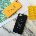 İphone 7, İphone 8, İphone SE 2020 Nice Yazılı Tasarım Premium Pc Kılıf